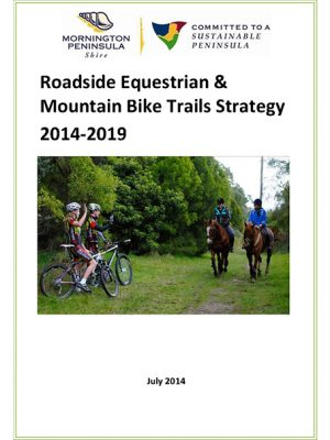 Roadside Equestrian And Mountain Bike Trails Strategy Sml